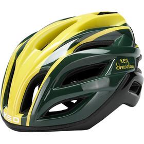 KED Gravelon Casco, giallo/verde